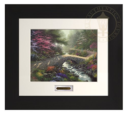 Bridge of Faith - Thomas Kinkade Modern Home Collection (Espresso Frame) by Thomas Kinkade