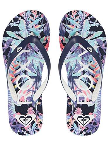 Blue Roxy VI Femme Tahiti Sandales Bleu w6fSqT6