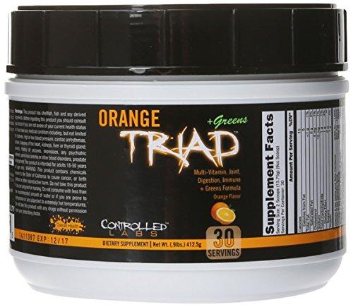 Controlled Labs Orange Triad Plus Greens