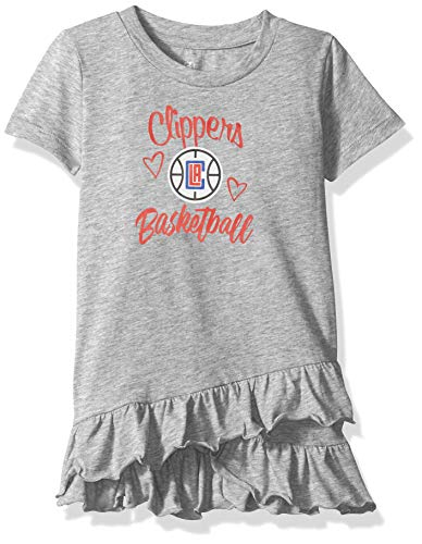 5d787f7cc09 NBA by Outerstuff NBA Newborn   Infant Los Angeles Clippers Claim to Fame  Ruffle Dress