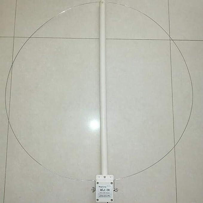 Antena de bucle de recepción activa 100kHz-30MHz bucle ...