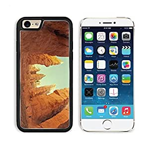 Hikers Wind Up The Trail Through The Hoodoos And Cliffs 3DCom iPhone 6 Cover Premium Aluminium Design TPU Case Open Ports Customized Made to Order