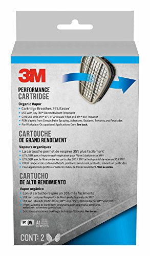 3M Organic Vapour Replacement Respirator Cartridges, for sale  Delivered anywhere in Canada