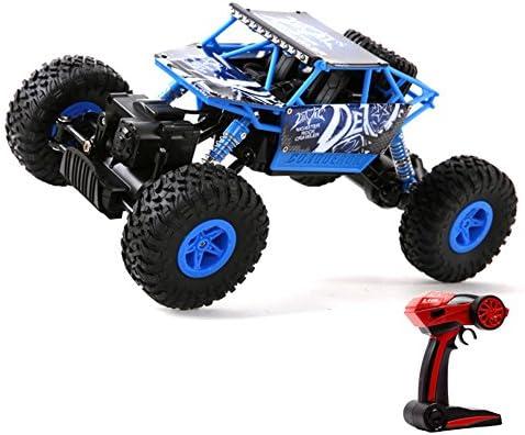 LZ おもちゃ 子供のおもちゃオフロード車を登るモンスタートラックRC車2.4Ghz 4WD高速1:12ラジオリモートコントロールバギー 子供のおもちゃ (色 : 青)