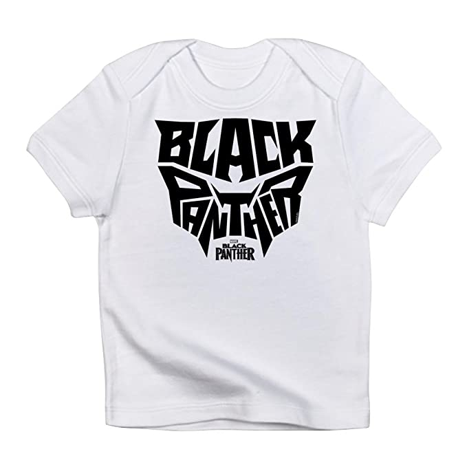 3aa8374ede CafePress Black Panther Logo Infant T Shirt Cute Infant T-Shirt, 100% Cotton