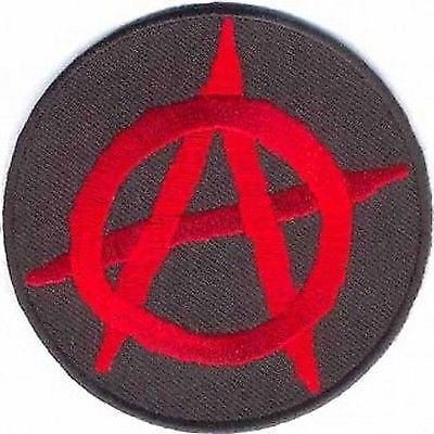 (ANARCHY Anti Government Motorcycle Club MC NEW Biker Vest Fun Patch! PAT-3077 )