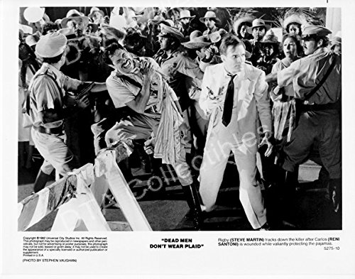 MOVIE PHOTO: DEAD MEN DON'T WEAR PLAID-1982-RENI SANTONI-8