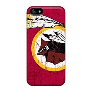 Protective Cell-phone Hard Cover For Iphone 5/5s (hBs16307EhwV) Custom Fashion Washington Redskins Skin