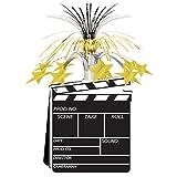 Movie Set Clapboard Centerpiece 15in. Pkg/12