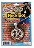 Hip Hop Spinning Necklace - Silver Accessory
