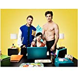 Awkward television Promo featuring Brett Davern as Jake Rosati, Ashley Rickards as Jenna Hamilton and Beau Mirchoff as Matty McKibben 8 x 10 Inch Photo
