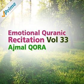 Amazon.com: Emotional Quranic Recitation, Vol. 33 (Quran