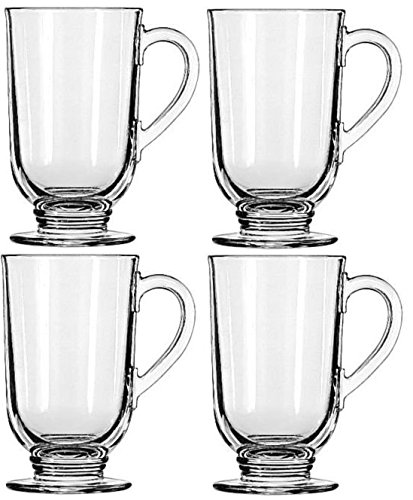 Libbey 10.5-ounce Irish Coffee Mug, 4-piece Set 4 Irish Coffee