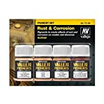 Vallejo Rust & Corrosion Pigment Set 4 x 35ml Paint from MMD Holdings, LLC