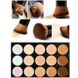 Lookatool Professional 15 Color Concealer Camouflage Makeup Palette With a Brush