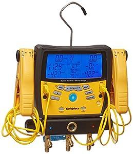 4. Fieldpiece SMAN360 3-Port Digital Manifold with Micron Gauge