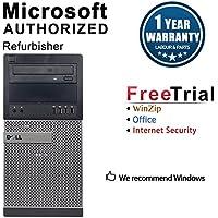 2018 Dell Optiplex 9020 Tower Desktop Computer (Intel Core i5-4570 3.4G,8GB DDR3,256GB SSD,DVD-ROM,USB_WiFi,Windows 10 Pro 64-Bit) (Certified Refurbished)-Multi-Language Support English/Spanish