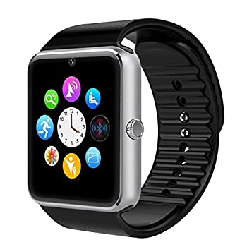 Cnpgd [U.s. Warranty] All-in-1 Smartwatch & Watch Cell Phone Silver For Iphone, Android, Samsung, Galaxy Note, Nexus, Htc, Sony 1