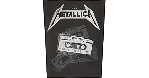 Metallica no life til leather XLG back patch