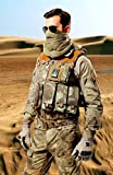 Tactical Mesh Net Camo Scarf For Wargame,Sports