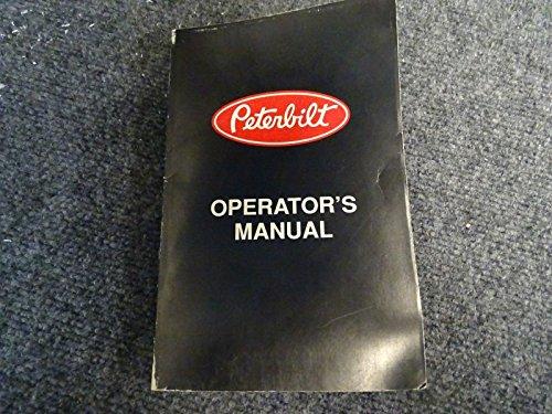 Peterbuilt Operators Manual CAT NO 5229 (R3/96) from Unknown