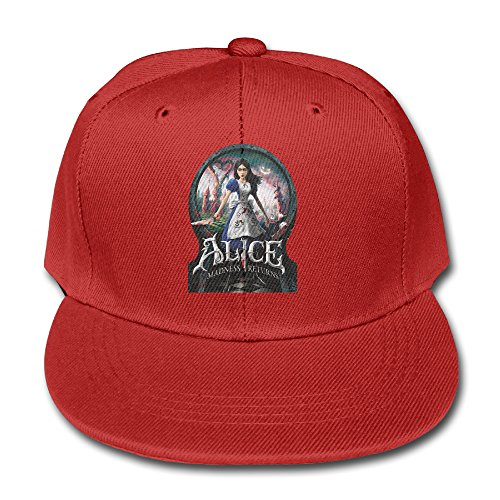 ^GinaR^ 140g Alice Madness Returns Cool Children Pure Baseball Cap - Red (Keurig 140 Coffee Maker compare prices)