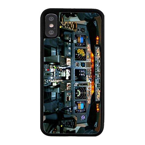 BleuReign Detailed Cockpit Design Rubber Phone Case for Apple iPhone X Xs Ten