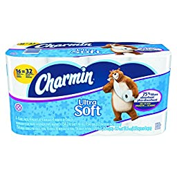 Charmin 94045  PGCCT Ultra Soft Bathroom Tissue, 2-Ply, 4\