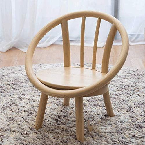Pouf Tabouret Ferme rustique Elm bois Cuisine et salle à manger Chaise Chambre Montage facile