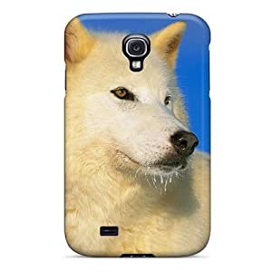 High-quality Durable Protection Case For Galaxy S4(arctic Wolf)