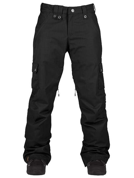 L Amazon Donna Pantaloni Safari Snowboard Black Pants Da Bonfire RTPqpR