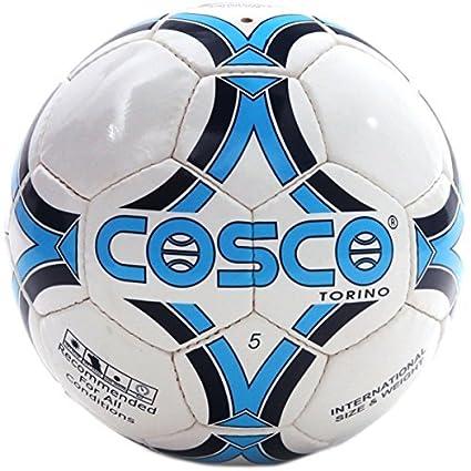 Cosco Torino Football, Size 5  White/Blue