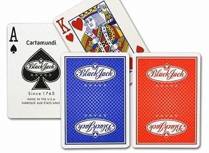 Amazon.com: Cartamundi 1145 Black Jack Juego de cartas ...