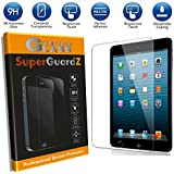 [2-Pack] For iPad Mini 3 / 2 / 1 - SuperGuardZ Tempered Glass Screen Protector, 9H, 0.3mm, 2.5D Round Edge, Anti-Scratch, Anti-Bubble