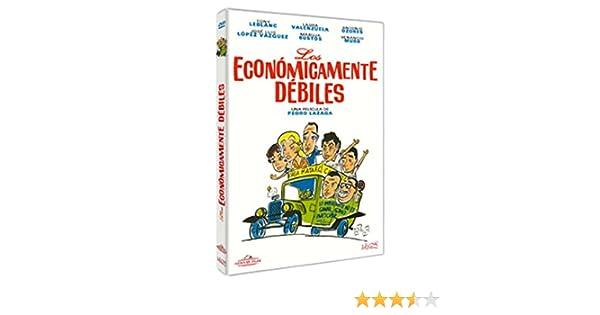 Los económicamente débiles [DVD]: Amazon.es: Tony Leblanc, José Luis López Vázquez, Antonio Ozores, Pedro Lazaga, Tony Leblanc, José Luis López Vázquez: Cine y Series TV