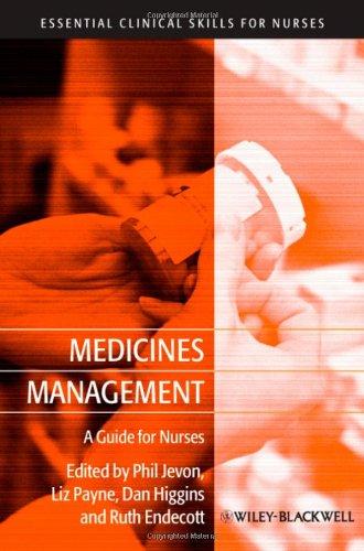 Medicines Management: A Guide for Nurses