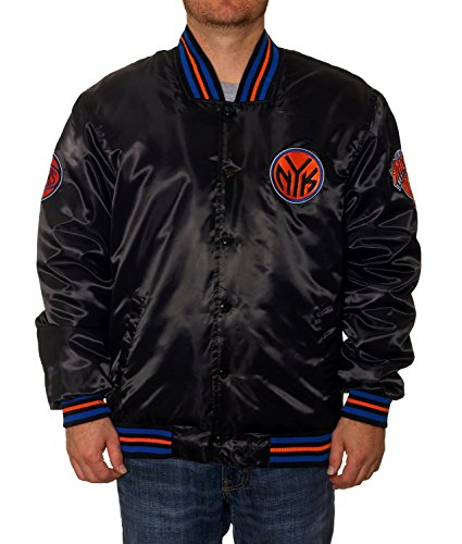 New York Knicks Satin Jacket (X-Large) - Batman Under Armour Shoes