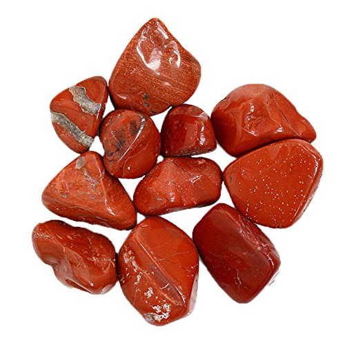 Natural Blood Red Marble Fish Tank Decorative Floor Setting Decoration Accessories 200g/pack by VEPET