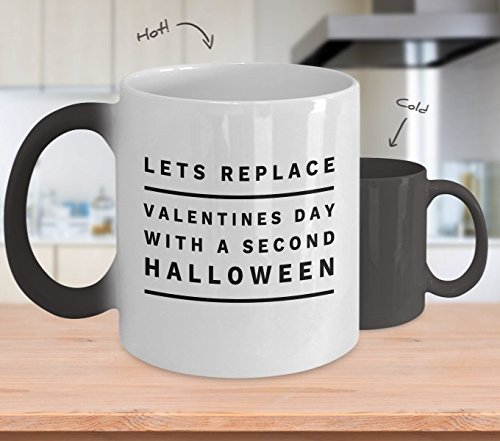 Color Changing Mug Lets Replace Valentines Day With