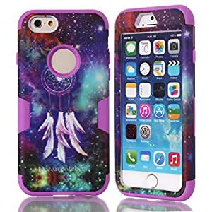 iPhone 6,Creativecase#6G005 iPhone 6 Case,iPhone 6 case for girls,iPhone 6 4.7 inch Case fashion beautiful picture 3in1 hybrid hard soft design iphone 6 case for girls cover for iphone 6 4.7 inch#R1