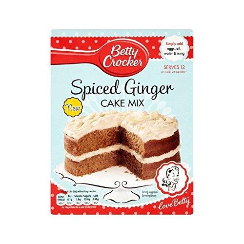 Betty Crocker Spiced Ginger Cake 425g - Pack of 6