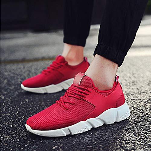 Seguridad Gym Para Rojo Vestir Zapatos Running Zapatillas Mujer Vestidos De Playeros Shoes Bbestseller v8fw0