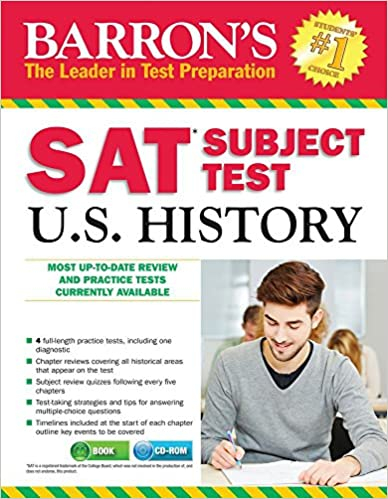 Amazon barrons sat subject test us history 3rd edition amazon barrons sat subject test us history 3rd edition 9781438007519 kenneth senter books fandeluxe Image collections