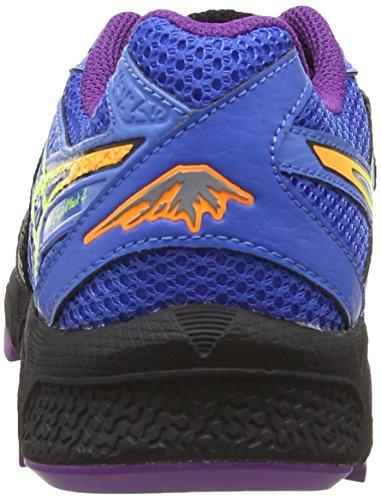 Blue Yellow Deporte Para fujiattack De Mujer Flash 4 onyx Zapatillas 9907 Gel Negro Asics Powder POXSq4S