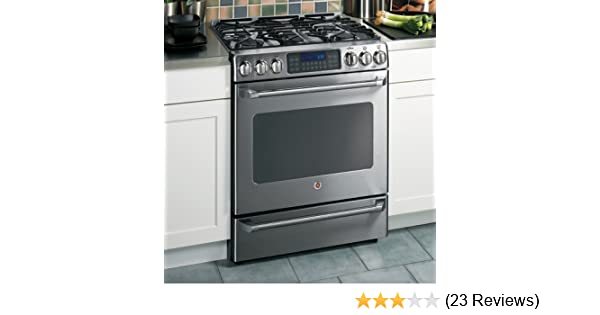 amazon com ge cafe c2s980semss 30 free standing dual fuel range w rh amazon com Quick Reference Guide Example User Guide