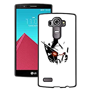 Gundam 15 Black Abstract Personalized Picture LG G4 Case