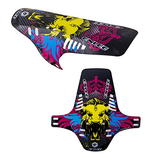 JIMAI New Hot 2018 3 Styles Bike Fender for Mountain Bicycle (Lion) -