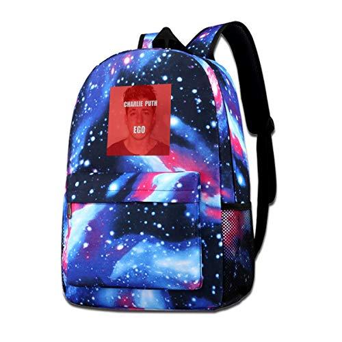 Charlie Puth Ego Unisex,lightweight,durable,school Backpack,multi-function Backpack,travel Backpack,school Bag