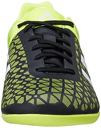 adidas Ace 15.3 IN - Botas para hombre Negro / Lima / Blanco