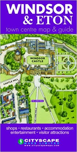 Windsor And Eton Town Map And Guide Amazon Co Uk 9781860800597 Books